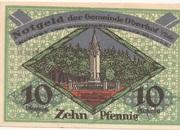 10 Pfennig (Oberhof) – reverse