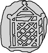 1 Penning (Visby) – obverse