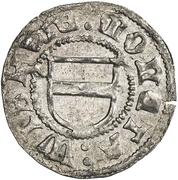 1 Hvid - Frederik I (Visby) – obverse
