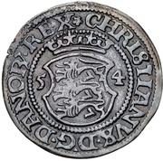 1 Skilling - Christian III (Copenhagen) – obverse
