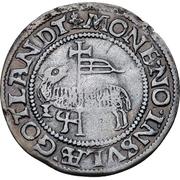 1 Skilling - Christian III (Copenhagen) – reverse
