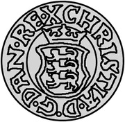 1 Hvid - Christian III (Copenhagen) – obverse
