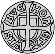 1 Hvid - Hans (Visby) -  obverse