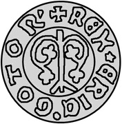1 Örtug - Eric of Pomerania (Visby) -  obverse