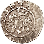 1 Örtug (Visby; type 3) – obverse