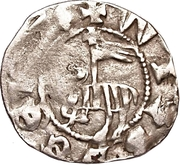 1 Örtug (Visby; type 9) – obverse