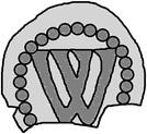 1 Penning (Visby; no symbols) – reverse