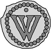 1 Penning (Visby; dot above) – reverse