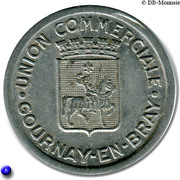 25 Centimes (Gournay-en-Bray) – obverse