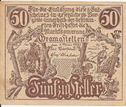 50 Heller (Gramastetten) -  obverse