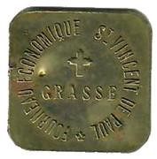 5 Centimes - Fourneau Economique Saint Vincent de Paul (Grasse) – obverse