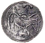 Denar - palatyn Piotr Wszeborzyc (Kruszwica or Strzelno mint) – obverse