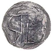 Denar - palatyn Piotr Wszeborzyc (Kruszwica or Strzelno mint) – reverse
