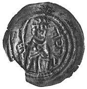 Brakteat - Mieszko III Stary (Gniezno or Kalisz mint) -  reverse