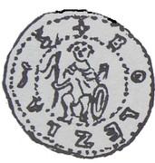 Denar - Bolesław Pobożny (Poznań mint) – obverse
