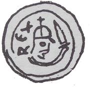 Brakteat - Przemysł II (Poznań mint) – obverse