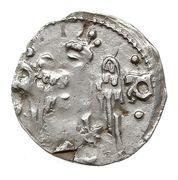 Denar - Przemysł II as king (unknown mint) – obverse