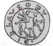 Brakteat - Władysław Laskonogi or Władysław Odonic (Gniezno or Poznań mint) – obverse