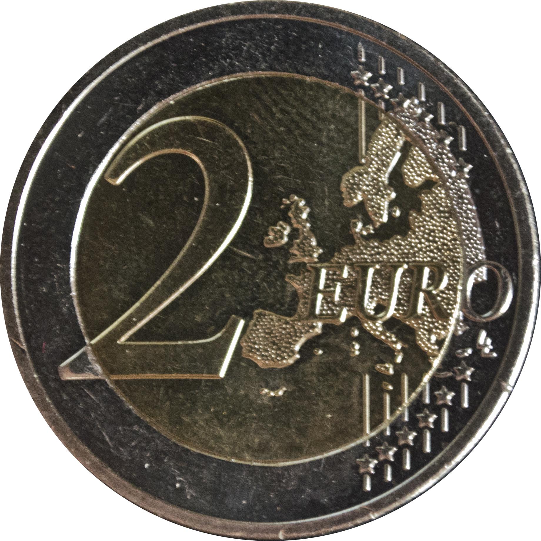 "Greece 2 euro 2013 /""Union of Crete with Greece/"" BiMetallic UNC"
