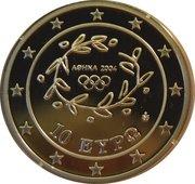 10 Euro (Rhythmic Gymnastics) -  obverse