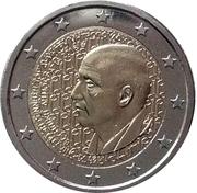 2 Euro (Dimitris Mitropoulos) -  obverse