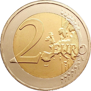 2 Euro (Marathon) -  reverse