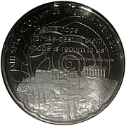 10 Euro (Special Olympic Games - Acropolis) – reverse
