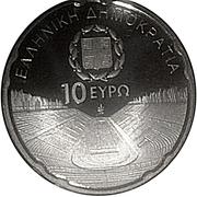10 Euro (Special Olympic Games - Panathenaiko Kallimarmaro Stadium) – obverse