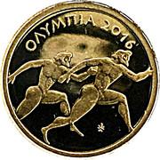 50 Euro (Olympia) -  reverse