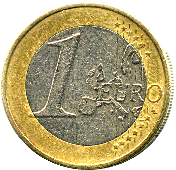 1 € Euro circulation coin 2003 UNC GREECE