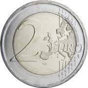 2 Euro (Kostis Palamas) -  reverse