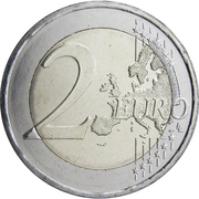 2 Euro (Union of the Dodecanese With Greece) -  reverse