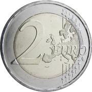 2 Euro (Andreas Kalvos) -  reverse