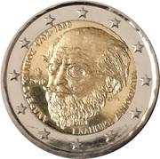 2 Euro (Andreas Kalvos) -  obverse