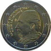 2 Euro (Nikos Kazantzakis) -  obverse