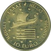 10 Euro (1996 Summer Olympics in Atlanta) – obverse