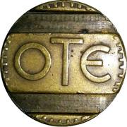 Telephone Token - OTE – obverse