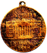 Medal - Opening of the Zappeion in 1888 for the 1st Olympic Games in Athens – obverse