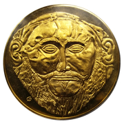 Medal - Art treasures of Ancient Greece (Mask of Agamemnon) – obverse