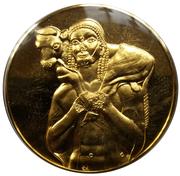 Medal - Art treasures of Ancient Greece (Calf-Bearer) – obverse