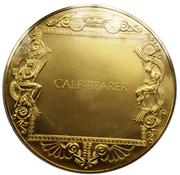 Medal - Art treasures of Ancient Greece (Calf-Bearer) – reverse