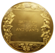 Medal - Art treasures of Ancient Greece (Battle of the Gods and Giants) – reverse