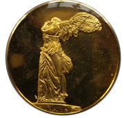 Medal - Art treasures of Ancient Greece (Winged Victory of Samothrace) – obverse