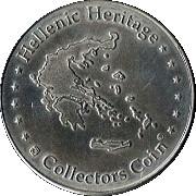 Hellenic Heritage Collectors Coin - Rhodes (Mandraki) – reverse