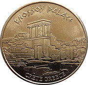 Hellenic Heritage Collectors Coin - Crete (Knossos Palace) – obverse