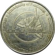 Hellenic Heritage Collectors Coin - Rhodes (Valley of Butterflies) – reverse
