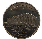 Hellenic Heritage Collectors Coin - Athens (Parthenon) – obverse