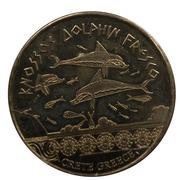 Hellenic Heritage Collectors Coin - Crete (Knossos - Dolphin Fresco) – obverse