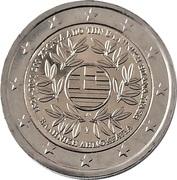 2 Euro (Bicentenary of the 1821 Greek Revolution) -  obverse