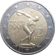 2 Euro (Olympic Games) -  obverse